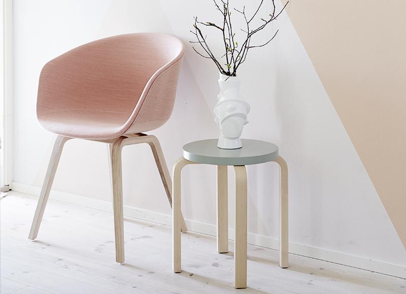DIY: customiza el taburete FROSTA de Ikea