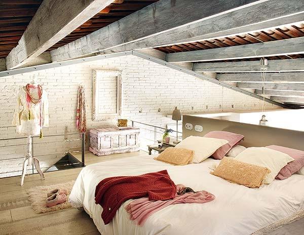 antigua casa reconvertida en loft