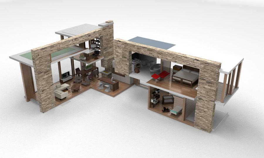 casas de diseo minimalista