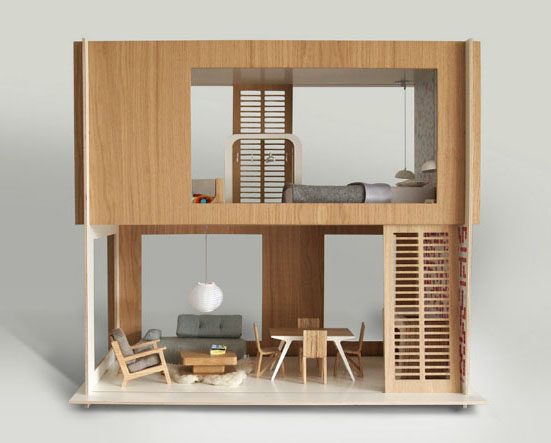 casas muñecas diseño