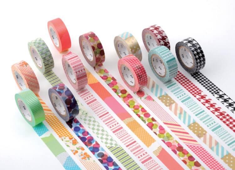 enmarcar con washi tape