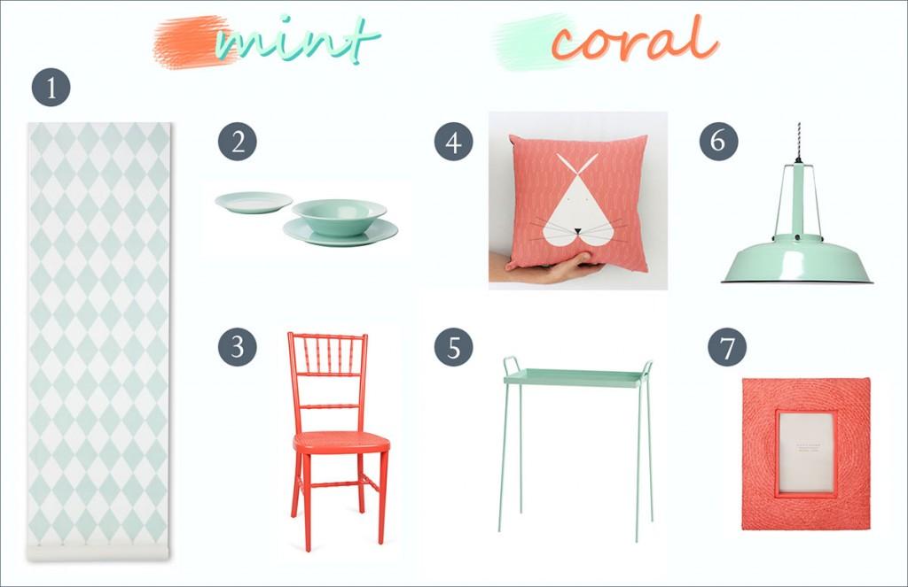 mint y coral width=