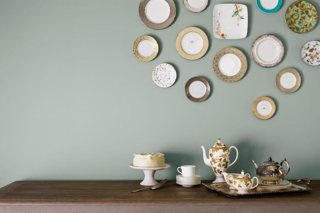 Emplatando: Ideas para decorar las paredes con platos