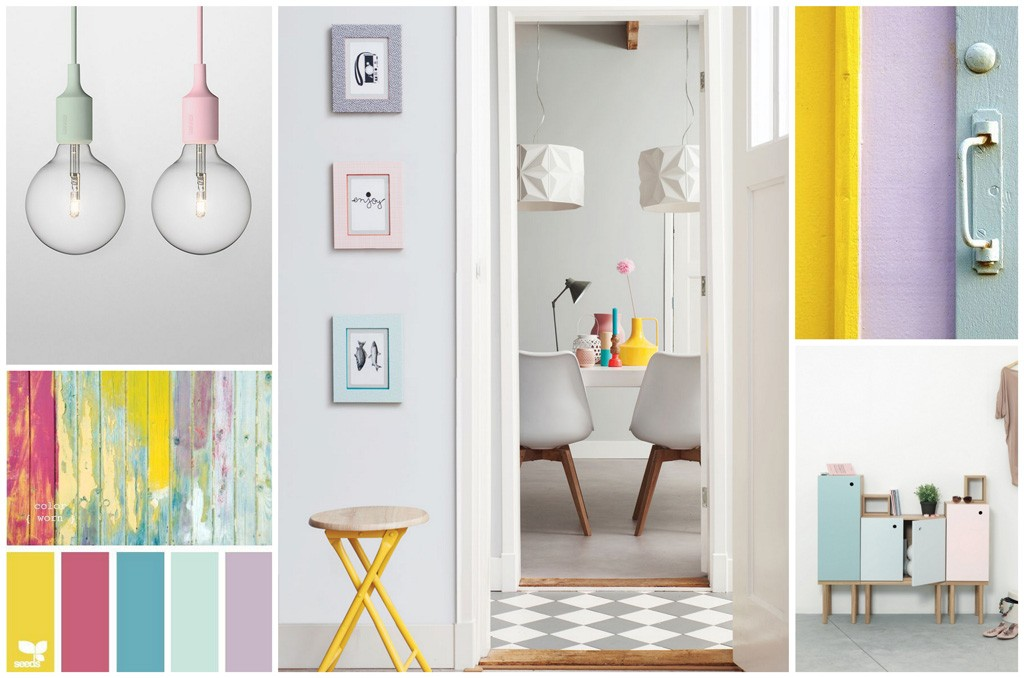 decorar con colores pastel