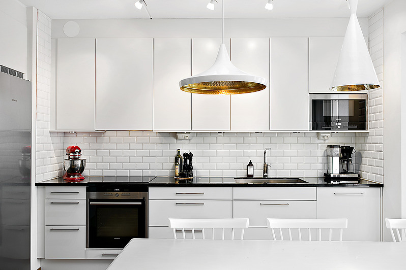 Fantástico Bronce Cocina Iluminación Colgante Ilustración - Ideas de ...