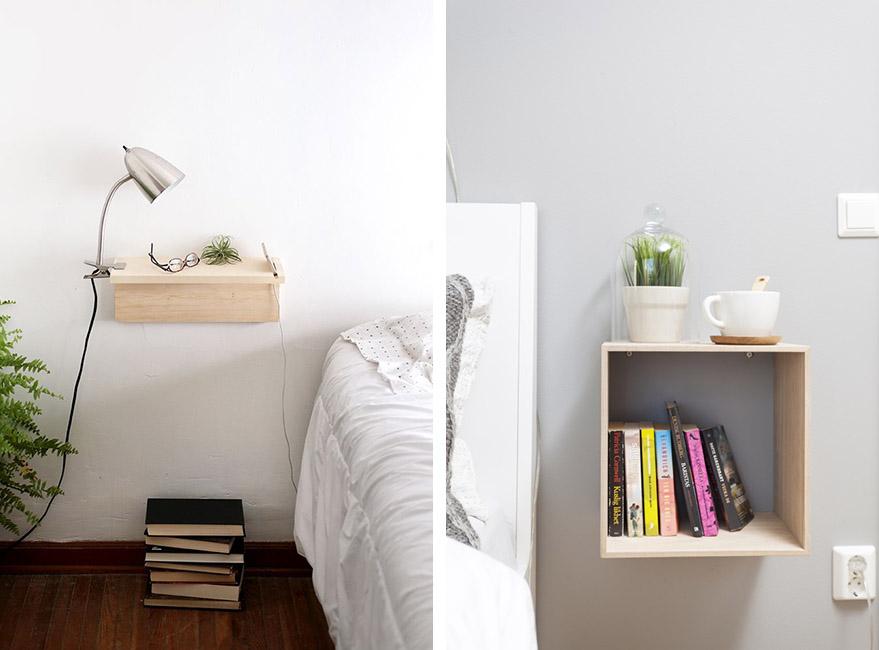 mesillas para el dormitorio