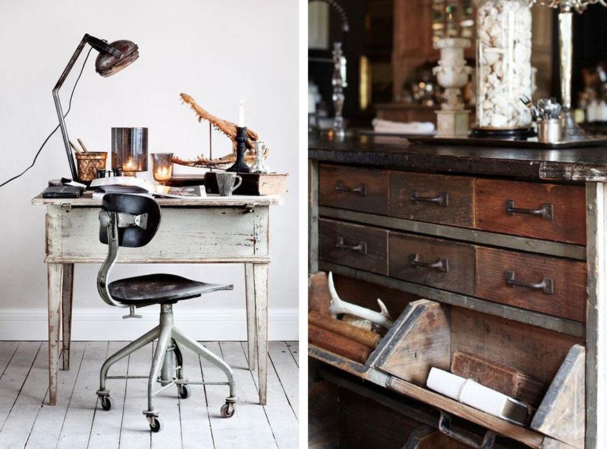 muebles de oficio