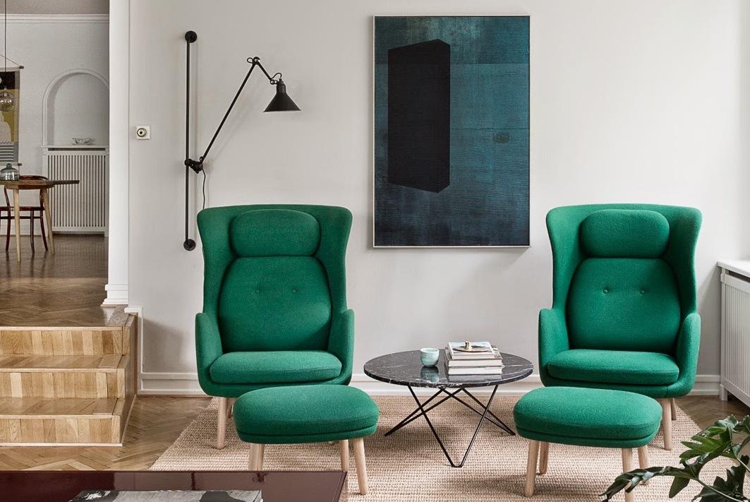 Pon una pieza de mobiliario de color verde en tu vida - Noveno Ce