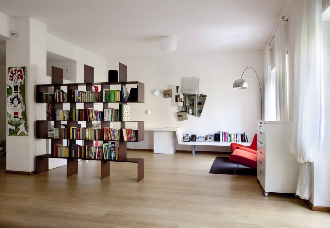Muebles Separadores De Espacios Latest Estanteria Romboidale With  # Muebles Separadores Para Monoambientes