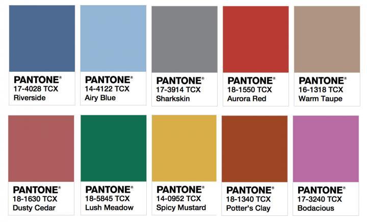 colores tendencia
