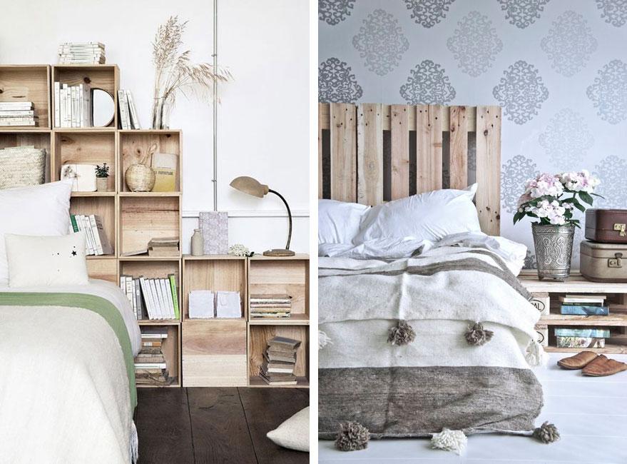 Personalizar el cabecero del dormitorio de manera original