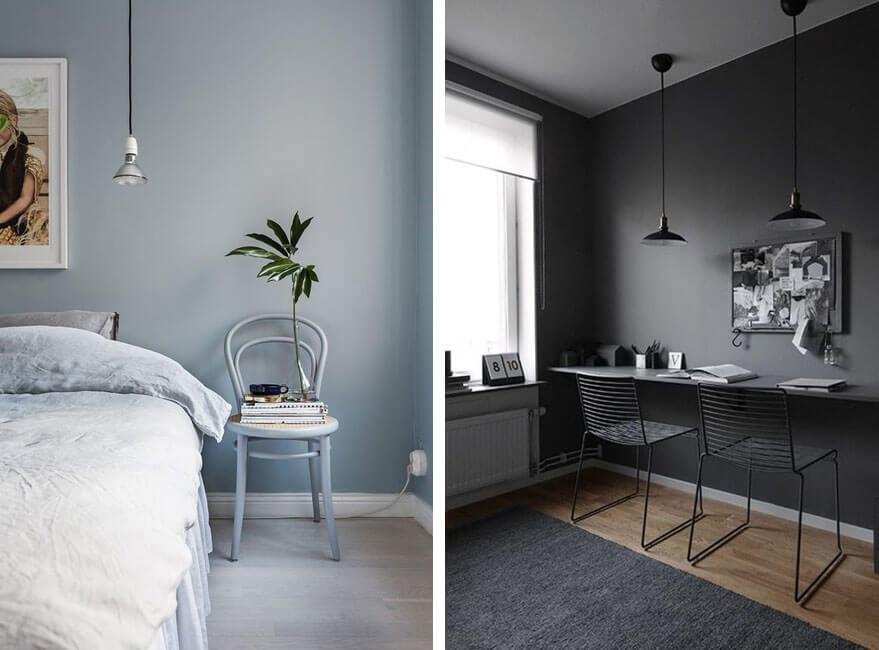 Mimetiza los muebles con la pared