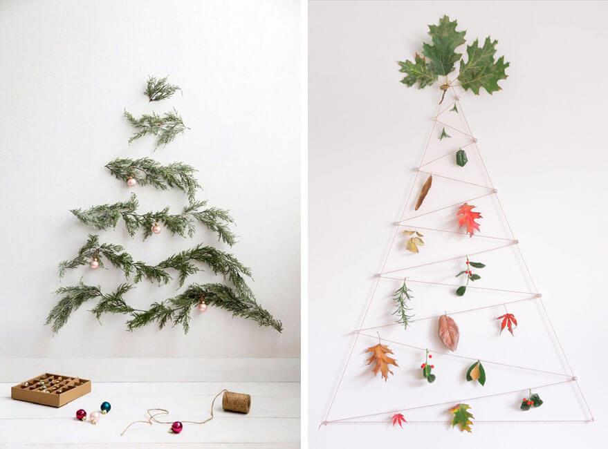 decorar las paredes en Navidad