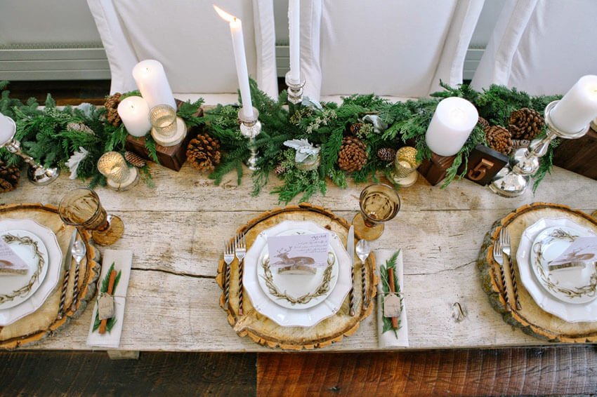 4 mesas navideñas con las que sorprenderás a tus invitados