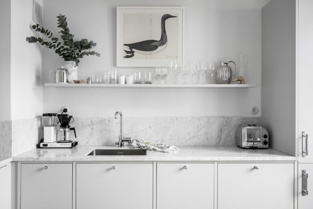 6 espectaculares cocinas con mármol como protagonista - Noveno Ce