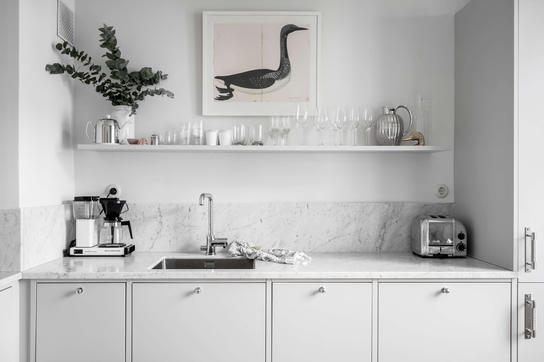 6 Espectaculares Cocinas Con Marmol Como Protagonista Noveno Ce - Cocinas-con-marmol