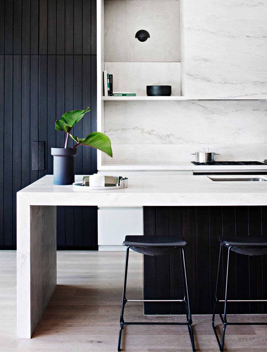 cocinas en marmol
