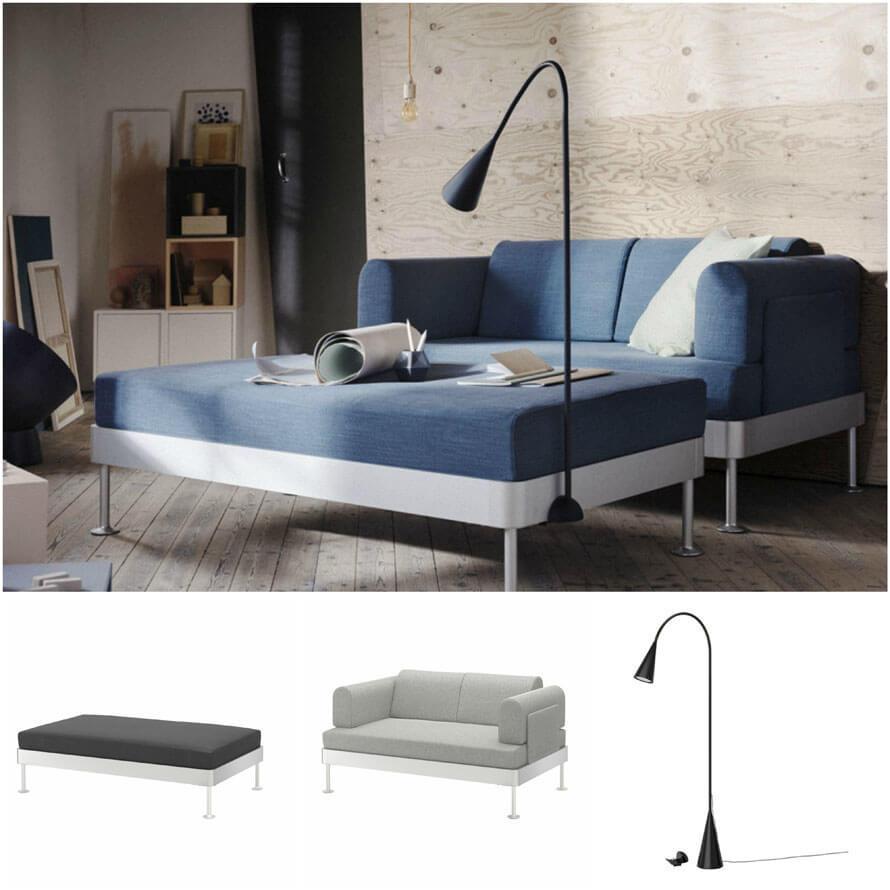 DELAKTIG, la nueva colección modular de Ikea y Tom Dixon