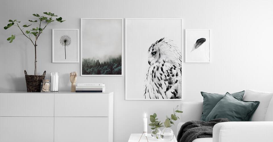 5 tiendas online de láminas y cuadros que te van a gustar