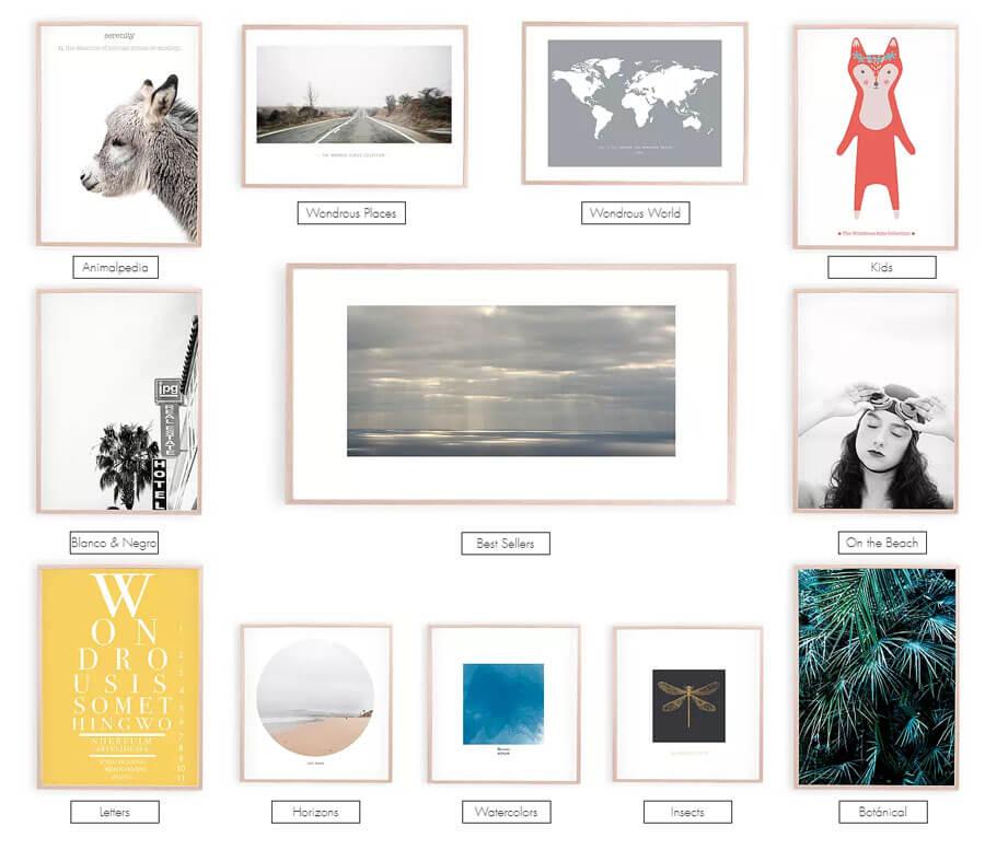 tiendas online de láminas