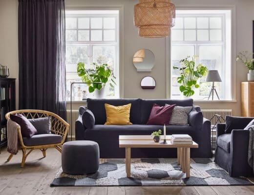 muebles de ratán y mimbre