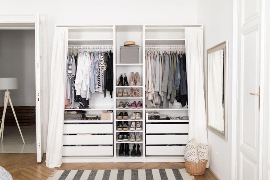 ordenar un armario ropero