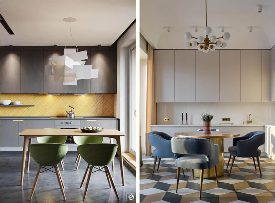 Claves para elegir la mesa de cocina ideal - Noveno Ce