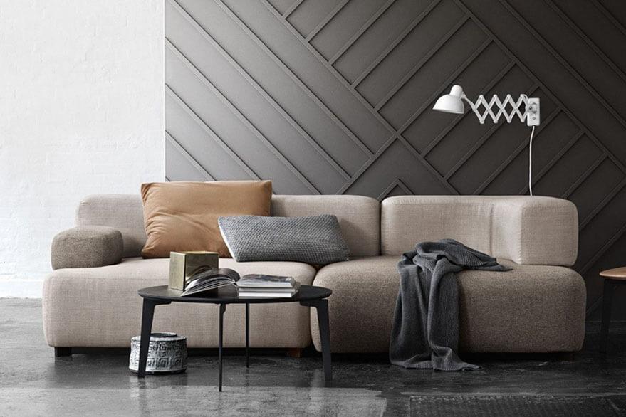 paredes con molduras