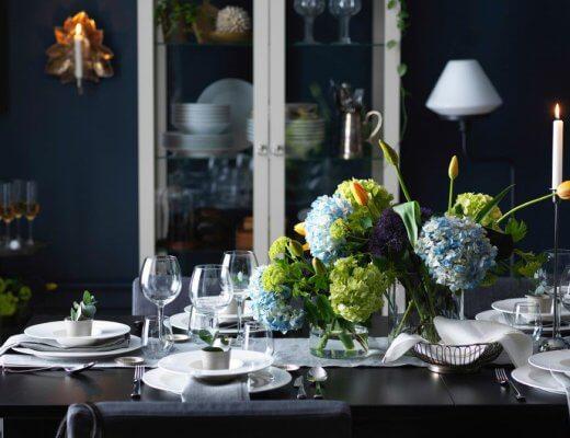 decorar la mesa para una celebración