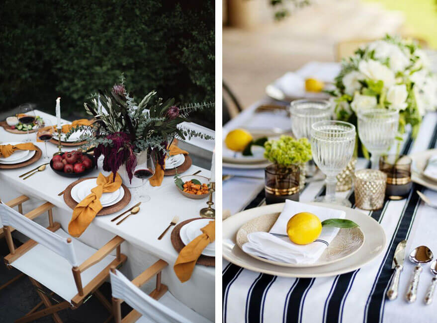 Cómo decorar la mesa para una celebración especial