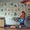 Ilustraciones de botánica de estilo vintage